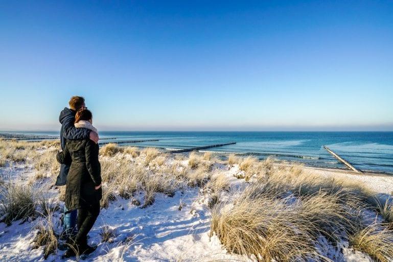 Arrangement Winterzauber an der Ostsee